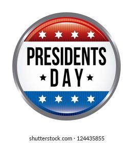 presidents day background, united states. vector illustration