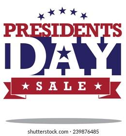 Presidents Day Icon EPS 10 vector stock illustration