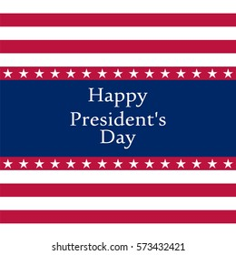 President's Day in the United States, vector