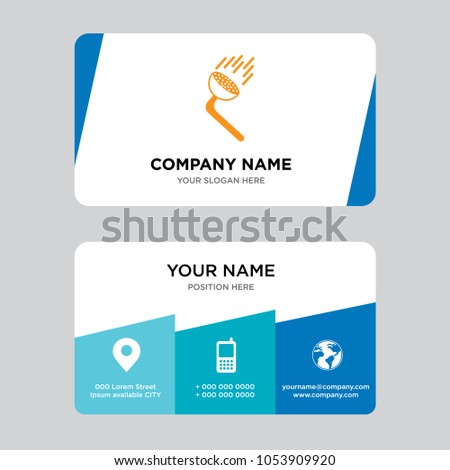 Pressure washing business card design template stock vector royalty pressure washing business card design template visiting for your company modern creative and clean cheaphphosting Gallery