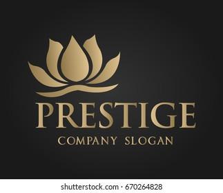 Prestige logo template