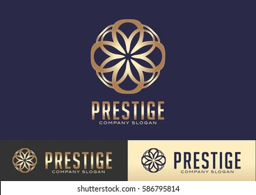 Prestige Logo Template Design Vector