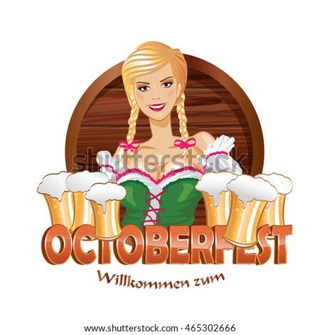Oktoberfest Bella Blond