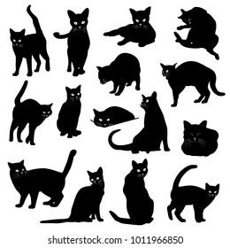 Pretty cat illustration, I made the illustration of a pretty kitten