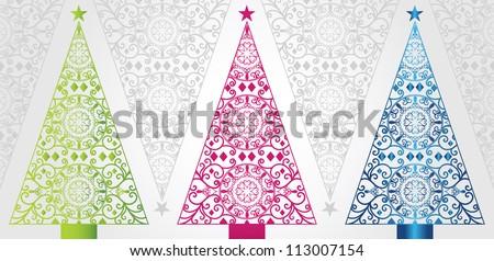 pretty christmas trees - Pretty Christmas Trees