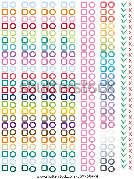 photograph regarding Cute Printable Stickers titled Attractive Lovely Printable Stickers Listing Planners Inventory