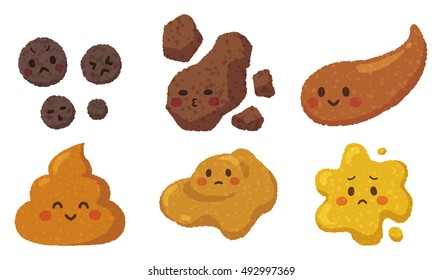 pretty poop with the various shapes.
