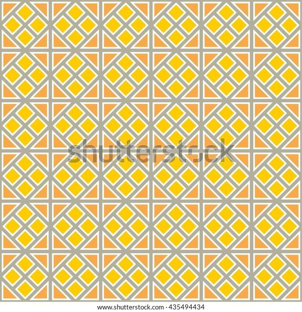 Pretty Wallpaper Tile Background Seamless Pattern Stock