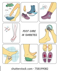 Preventive foot care in diabetes