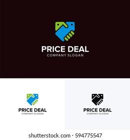 Price deal logo vector