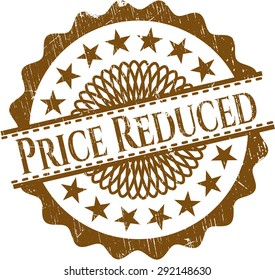 Price Reduced grunge seal