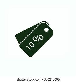 price tag icon.vector