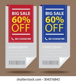 Price tags design, vector illustration.