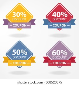 Price tags design, vector illustration.