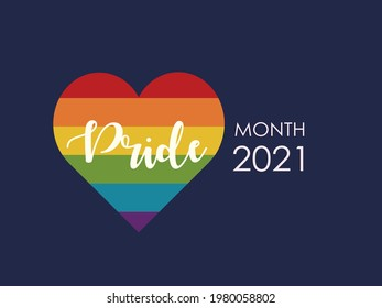 Pride month 2021 poster, Gay rights, LGBT