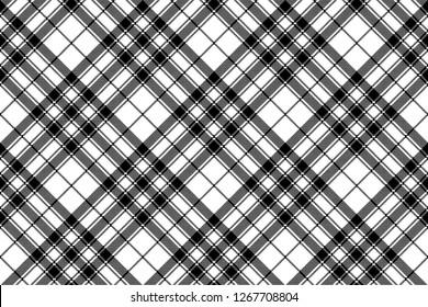Pride of scotland tartan check plaid pixel seamless pattern. Vector illustration.