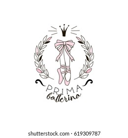 prima ballerina print