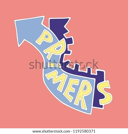 primers doodle fine medical posters educational stock vector
