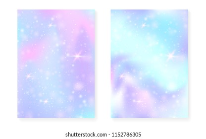 princess background kawaii rainbow gradient 260nw 1152786305