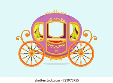princess Carriage cartoon