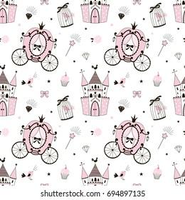 princess castle pattern