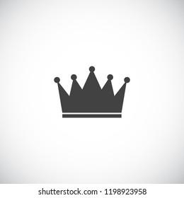 Princess Crown Icon. Vector Illustration. EPS10