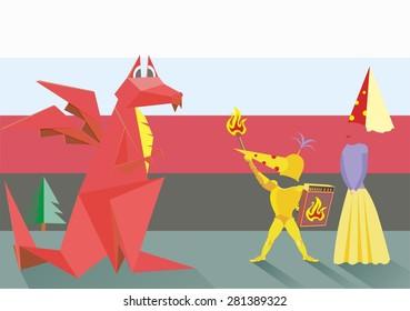 Princess and Dragon Knight