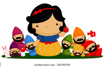 Princess and Dwarfs