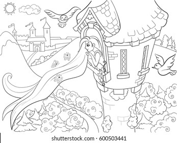 Rapunzel Tower Images Stock Photos Vectors Shutterstock