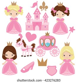 Princess vector illustration