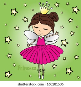 princess/T-shirt graphics/cute cartoon characters/cute graphics for kids/Book illustrations/textile graphic/graphic designs for kindergarten/cartoon character design/fashion graphic/cute wallpaper