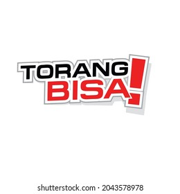 """pringsewu, Lampung; 18 september 2021; the words """"torangbisa!"""". is a word of encouragement typical of Papua to sacrifice the spirit of champion athletes"""