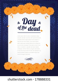 Print Flower Day of the Dead