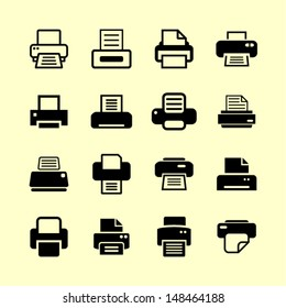 Print icons for website