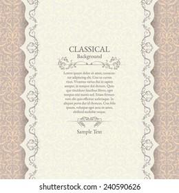 Print. Invitation card. Wedding invitation.