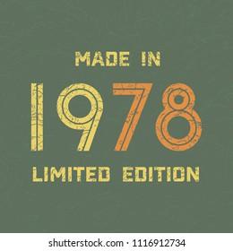 1978 Vintage