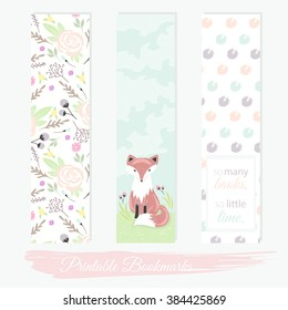 photo regarding Printable Bookmark referred to as Printable Bookmarks Inventory Vectors, Illustrations or photos Vector Artwork