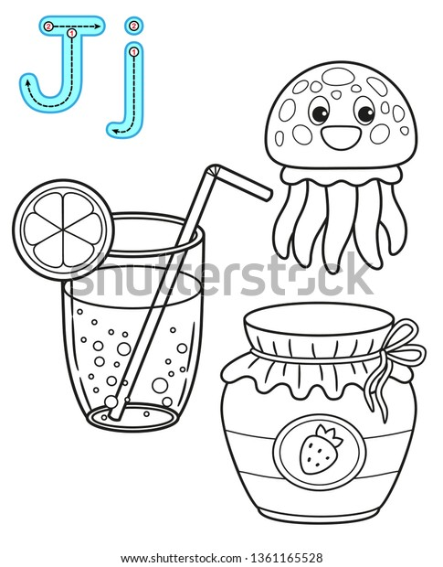 Printable Coloring Page Kindergarten Preschool Card Royalty Free