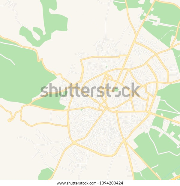 photograph about Printable Map of Greece referred to as Printable Map Tripoli Greece Principal Secondary Inventory Vector