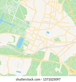 Map Of France Versailles.Versailles Map Stock Vectors Images Vector Art Shutterstock