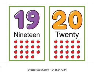 picture about Printable Number Flash Cards known as Selection Flashcards Photos, Inventory Visuals Vectors Shutterstock