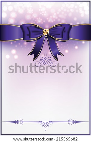 printable purple white background ribbon different stock vector