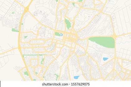 Bloemfontein South Africa Map.Bloemfontein Map Images Stock Photos Vectors Shutterstock