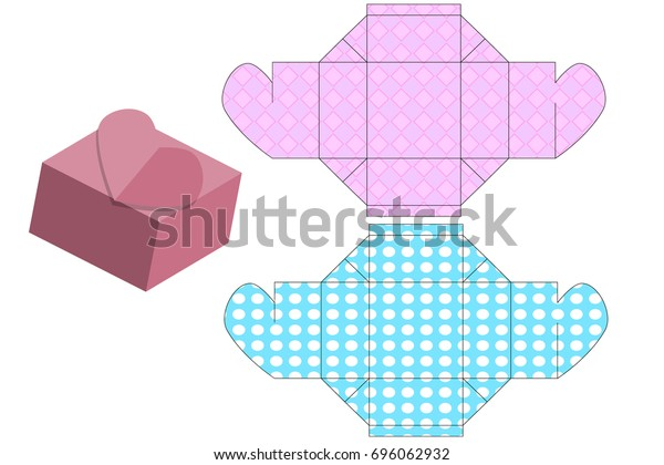 image relating to Printable Boxes identified as Printable Templates Reward Bins Luggage Aspects Inventory Vector