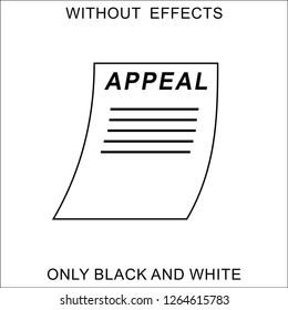 Printed appeal-vector image