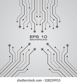 Printed Circuit Board vector background