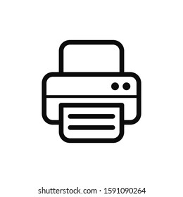 fax machine icon images stock photos vectors shutterstock https www shutterstock com image vector printer icon vector print sign 1591090264
