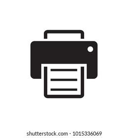 Printer simple icon.