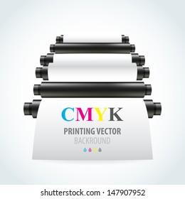 printing machine stock vector royalty free 146718464 shutterstock
