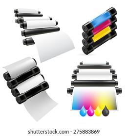 Printing machine set